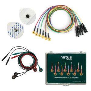 Elektrody i kable EEG EMG EKG